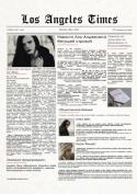 Первый выпуск обновленной газеты  LA Times на «Underworld: The Chronicles»