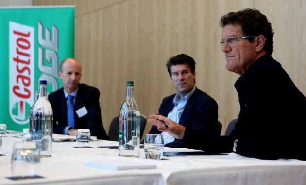 Ведущие европейские тренеры провели первый футбольный форум под эгидой Castrol - изображение 1