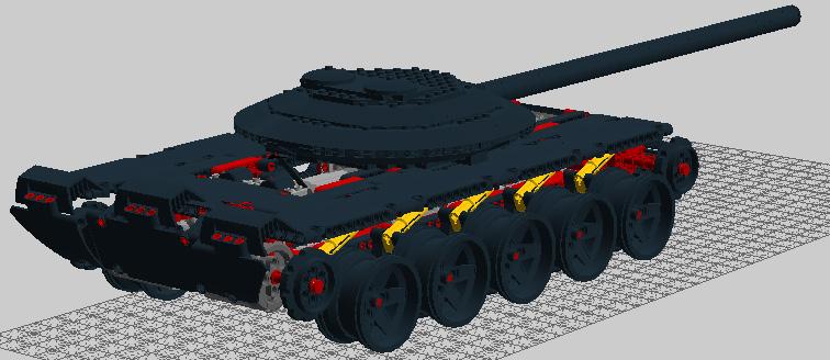 Как сделать танк без гусениц