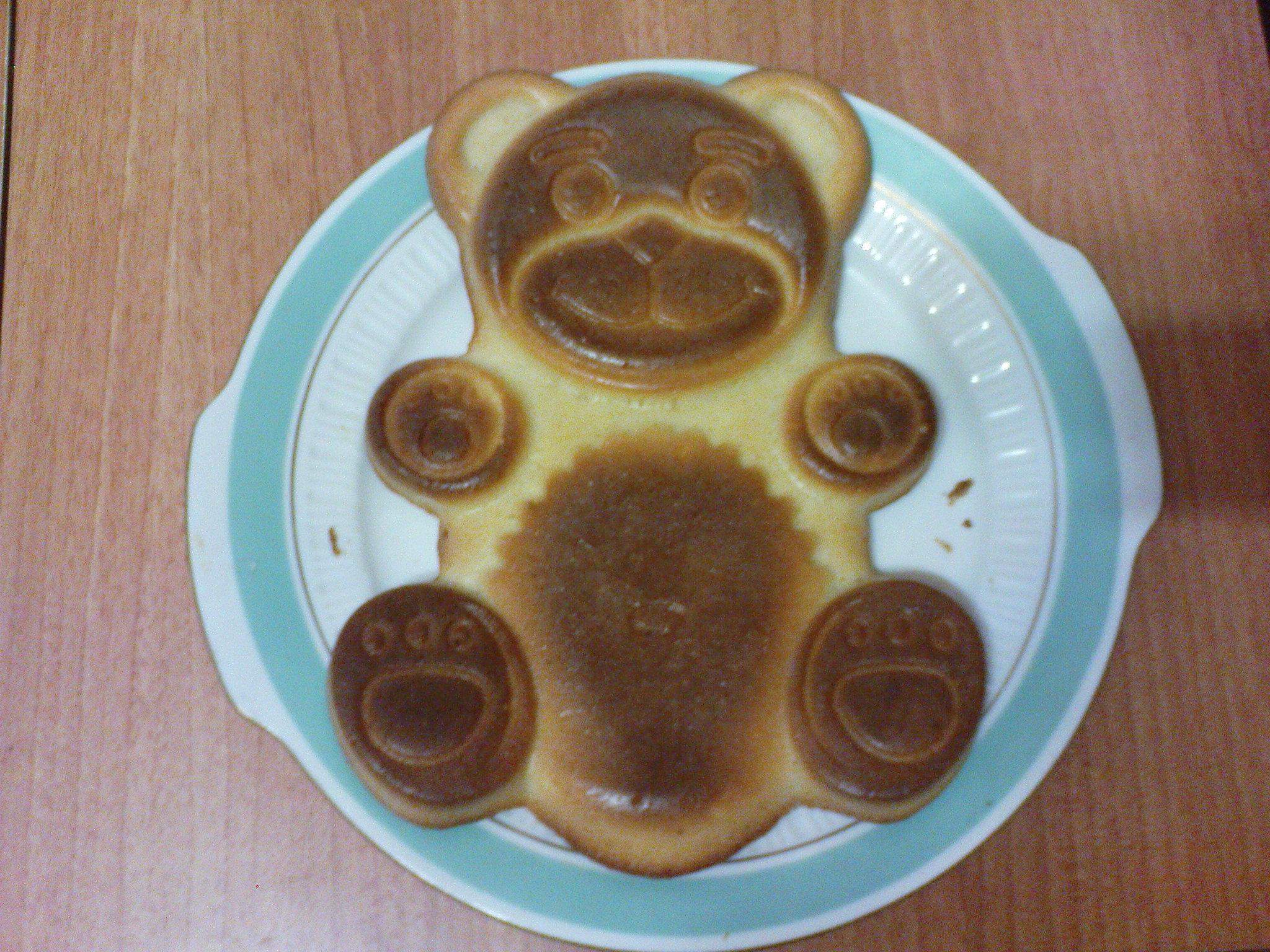 Пирог мишка пошаговый рецепт