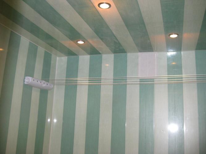Сайдинг на потолок в ванной своими руками видео