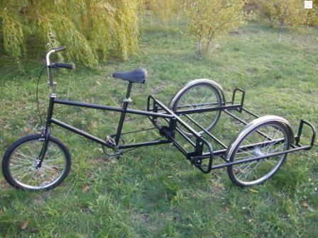 3 х колесные велосипеды своими руками