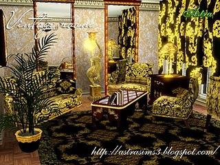 Винтажная комната от Astra