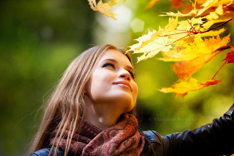 Фото идея осенью