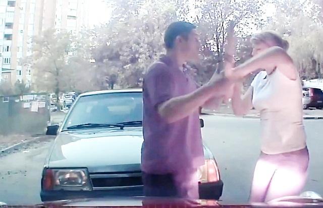 Конфликты и разборки на дороге, подборка дтп