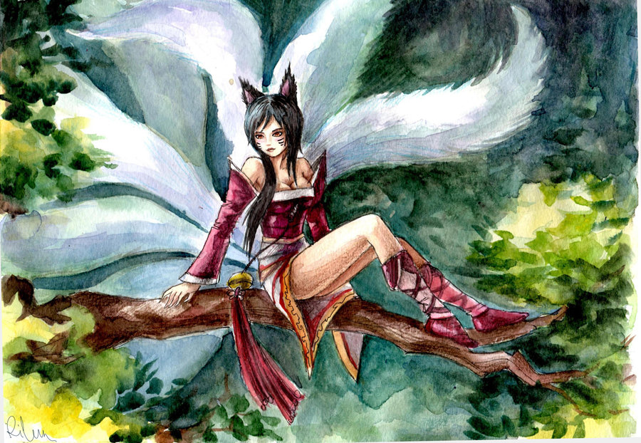 33278_ahri_watercolor_by_rilun-d4nojjk.j
