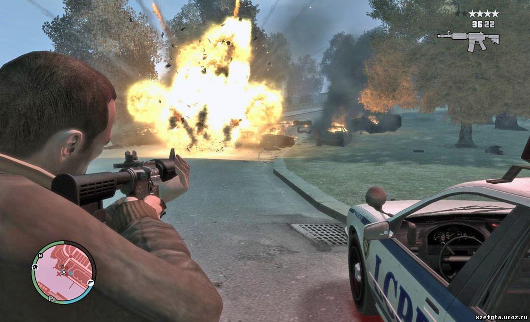 Grand Theft Auto 4 (2008) [PAL] [RUS] XBOX360