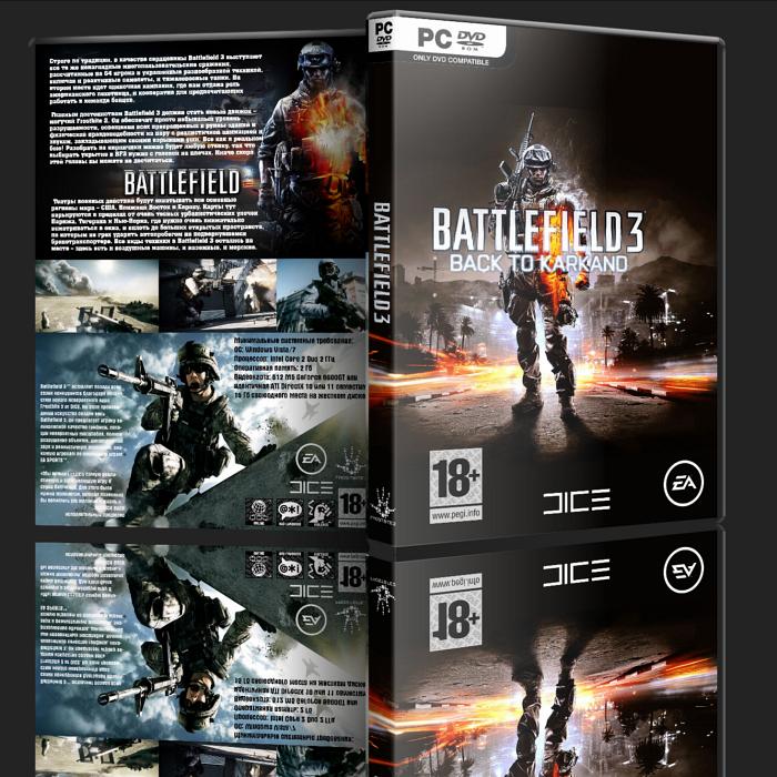 Battlefield 3 Limited Edition (2011 Лицензия RUS ENG Multi)