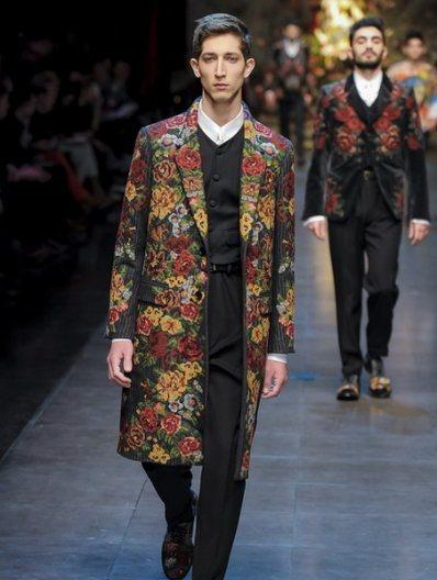 Тренд весны 2016 года: пальто с цветочным принтом