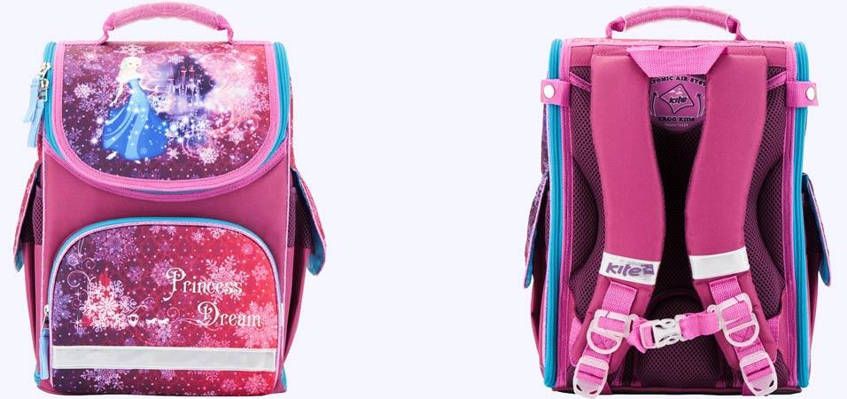 5fbd21896db5 Рюкзак школьный каркасный Kite мод 500 Princess dream. Артикул: K17-500S-1