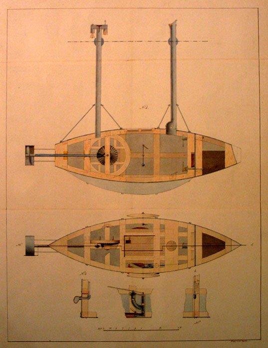 подводная лодка из дерева модель