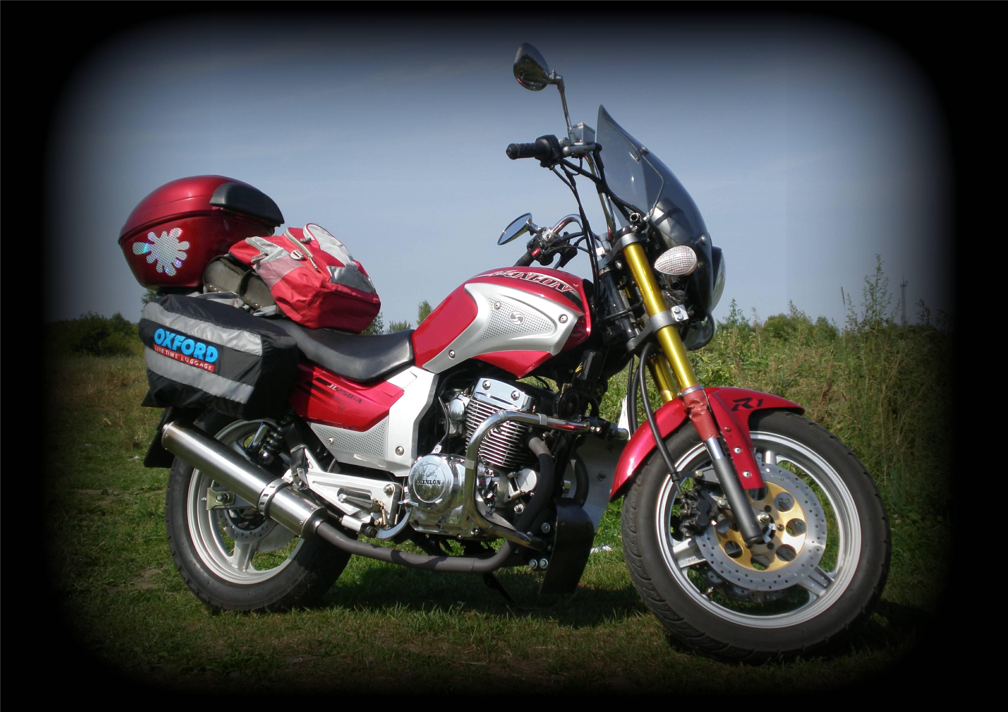 Китайские 2 х цилиндровые Мотоциклы #5