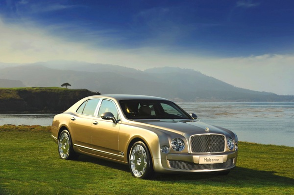 2010 Bentley Mulsanne wallpapers.
