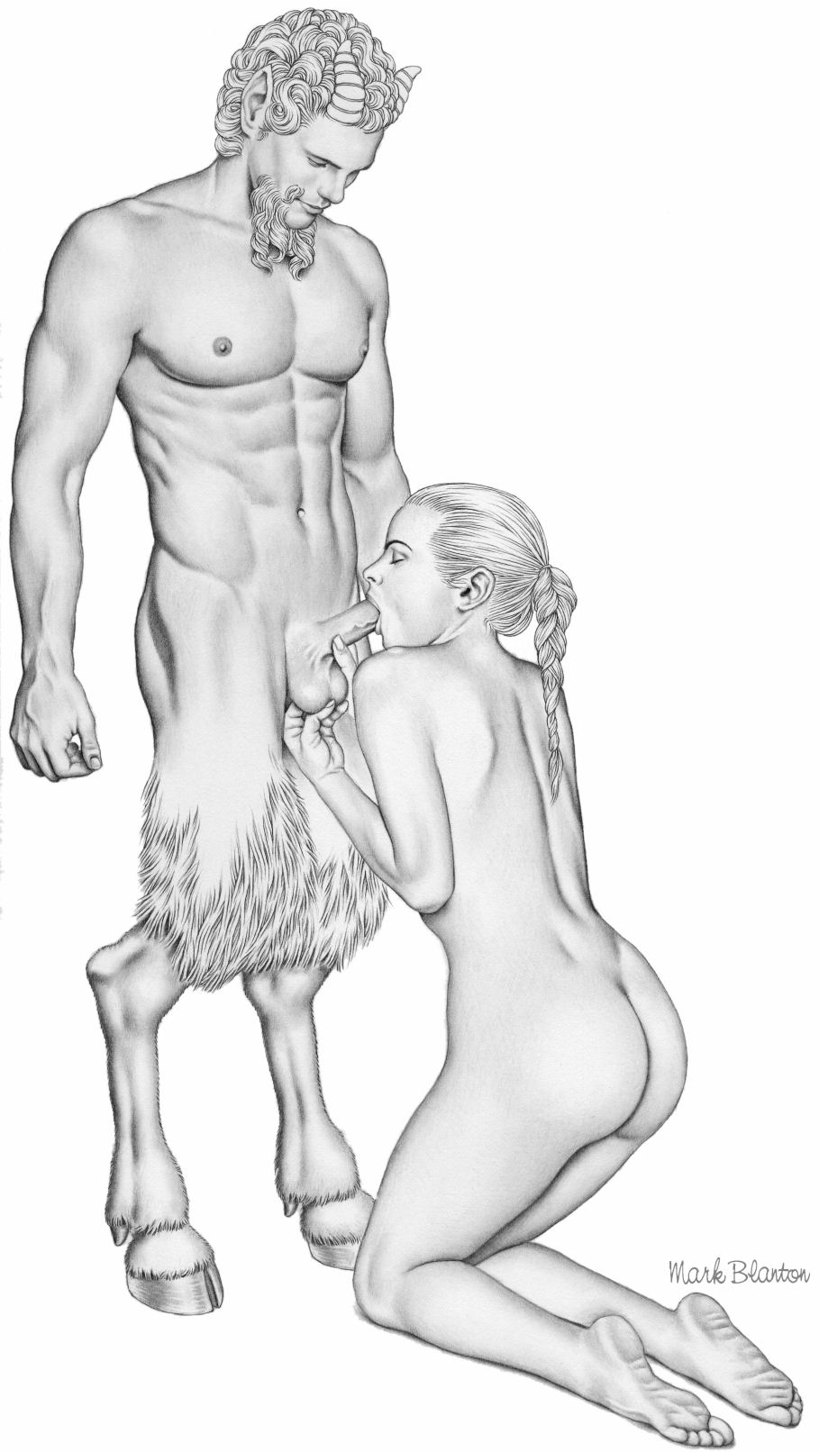 Erotic drawings satyr fucking woman on top nackt pic