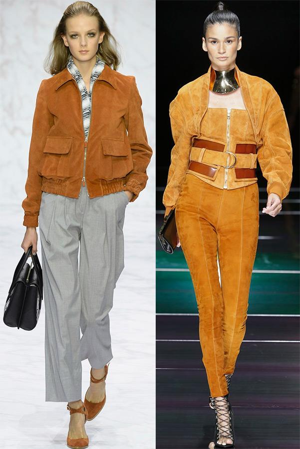 Весна 2016 - модные тенденции куртки от Daks, Balmain