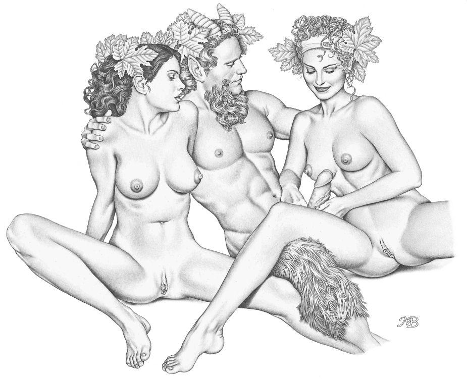Мир порно и сатиры