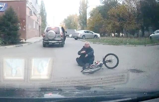 Подборка дтп с велосипедистами