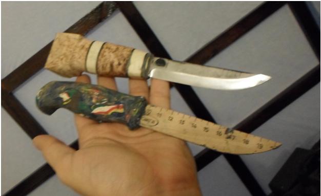 Как сделать нож для выживания из дерева