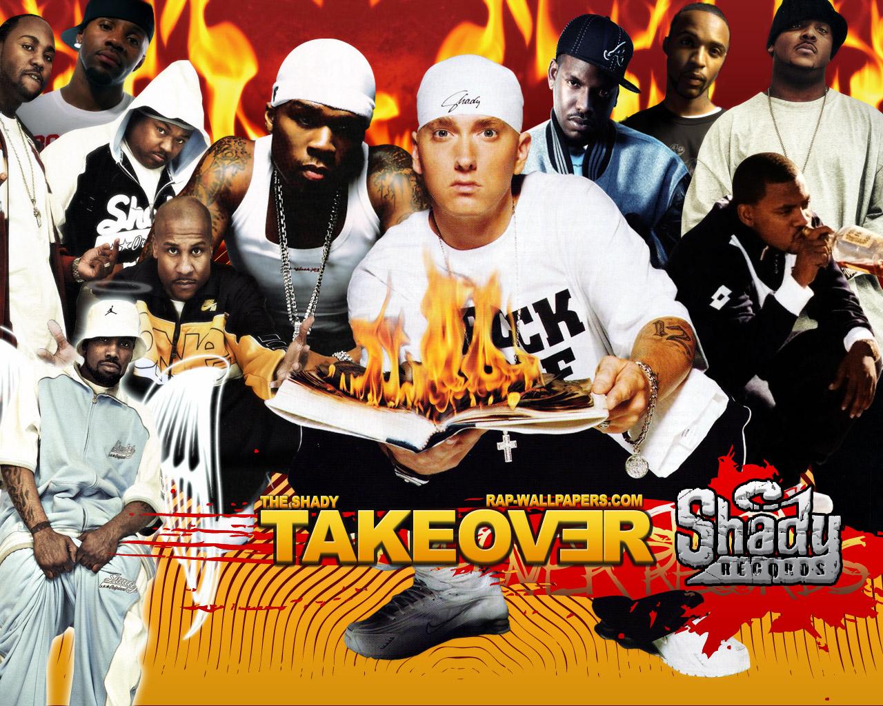 Сотрудничество Eminem'a (1998-2011)