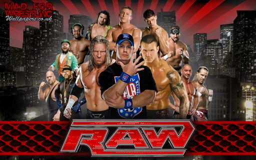 Wwe Raw Wallpaper 2011. wwe 2009 roster