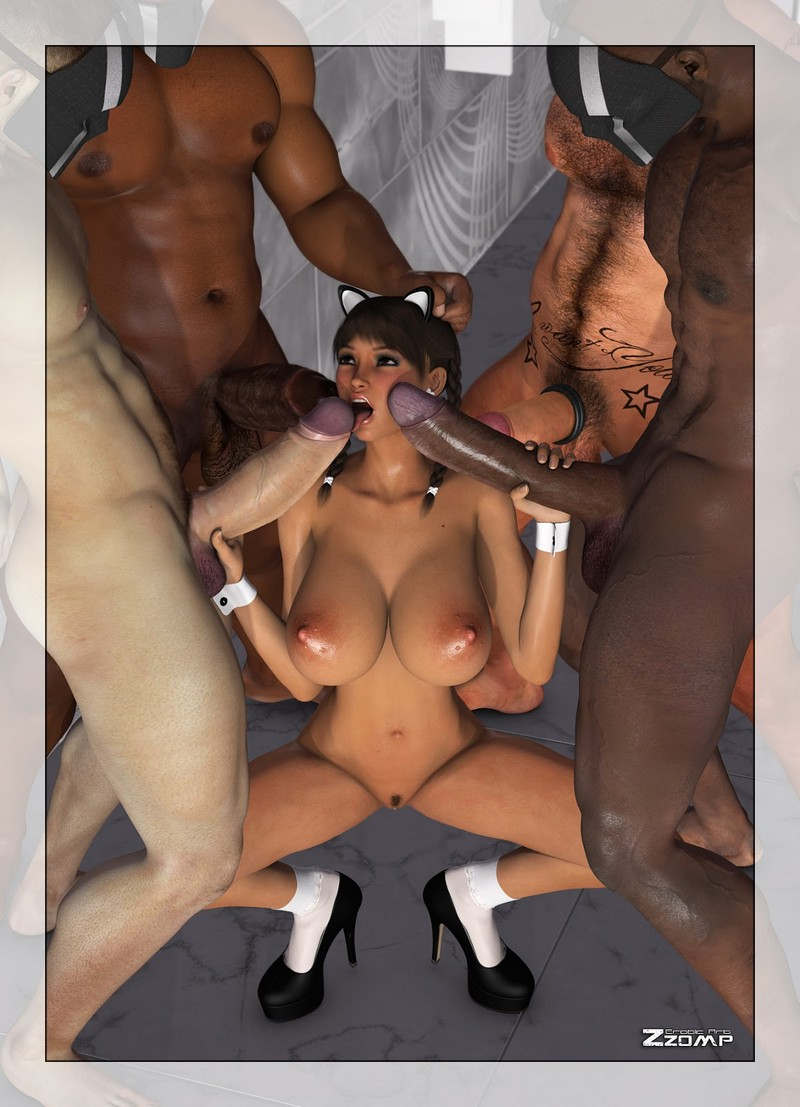 Ghost 3d gangbang xxx picture