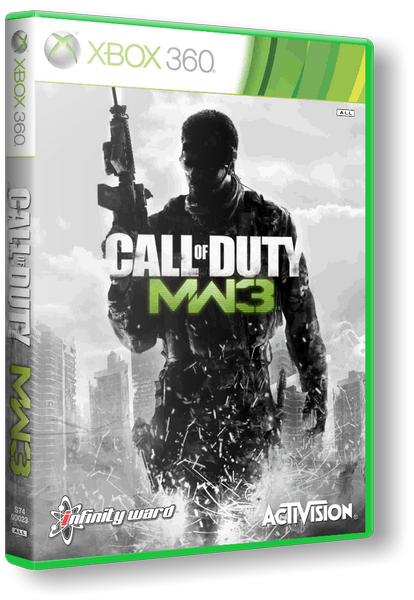 [XBOX360] Call of Duty: Modern Warfare 3 (2011 PAL RUSSOUND)