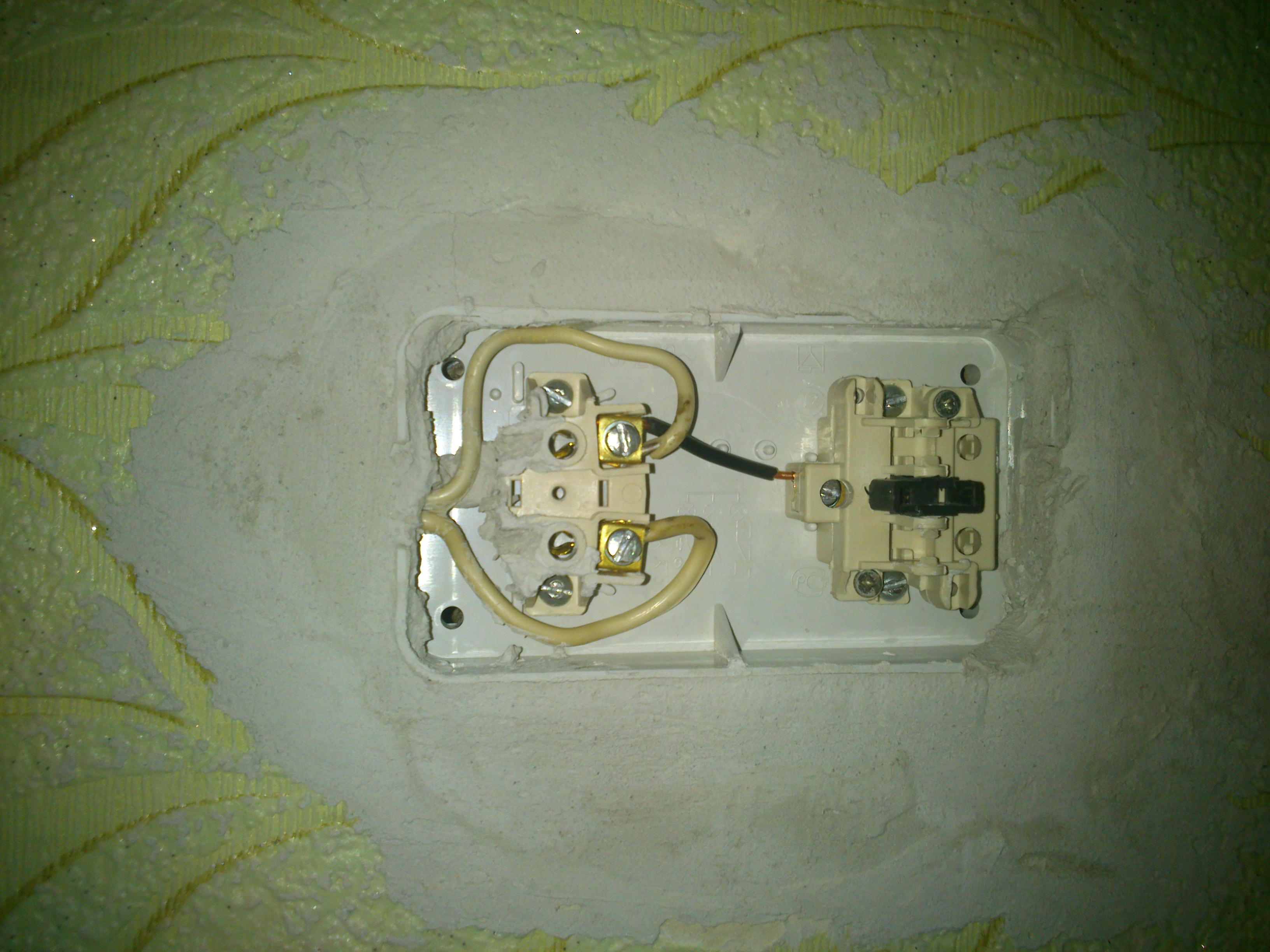 схема подключения розеток лампочек выключателей
