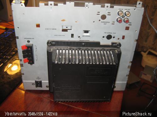 Philips fw750c/22s УНЧ и БП,